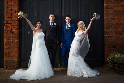 Packington Moor Barns Wedding