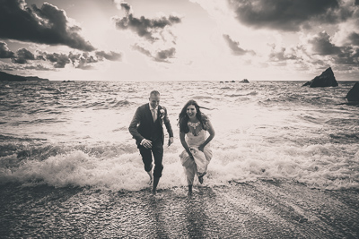 Tunnels Beach Wedding